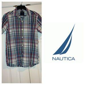 Boy Nautica polo shirt